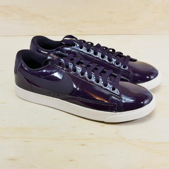 ea99b168 Nike Shoes | Blazer Low Se Prm Port Wine Space Blue New | Poshmark